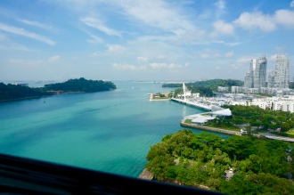Cable Car to Sentosa Island