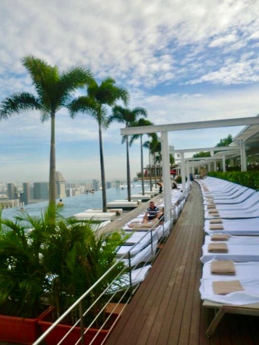 MarinaBay Sands Pool